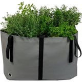 the green bag m cinza