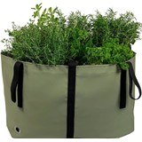 the green bag l olive green