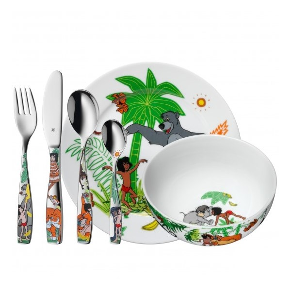 click to zoom  sc 1 st  Inexistência & WMF The jungle book children cutlery and dinner service
