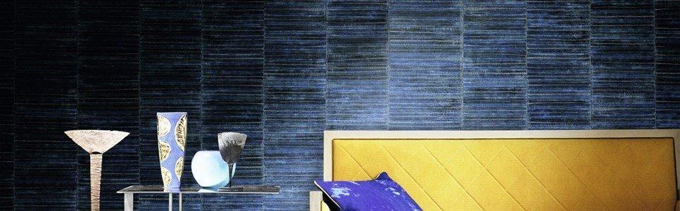 Elitis Anguille big croco galuchat wallpaper