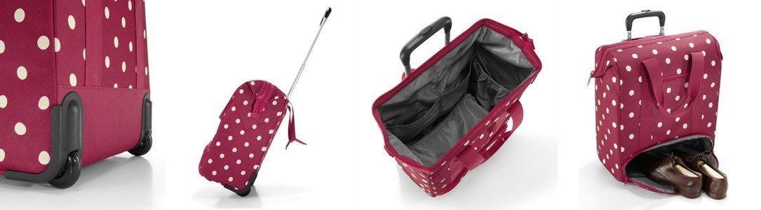 reisenthel allrounder wheely traveling bag. Black Bedroom Furniture Sets. Home Design Ideas