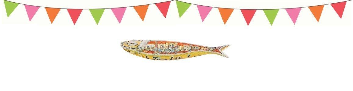 bordallo pinheiro sardinhas abrir em caso festa en