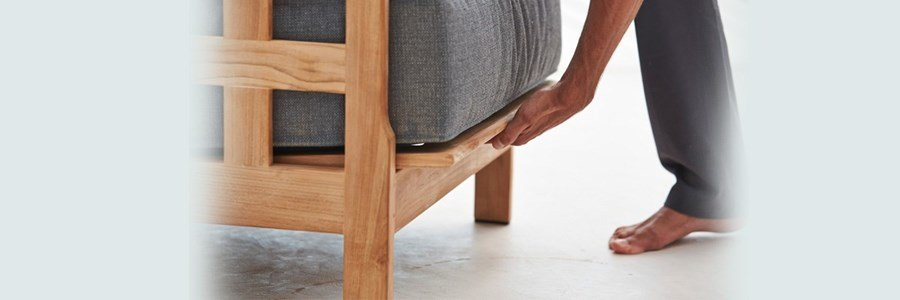 cane line square sofa individual