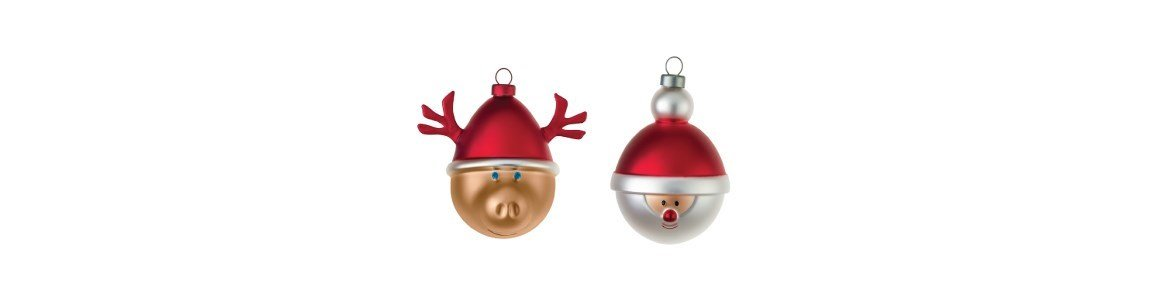 christmas baubles alessi