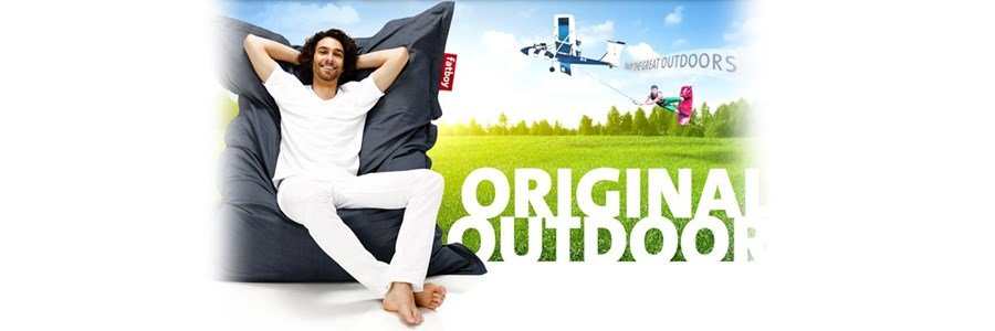 fatboy original outdoor puff eterior