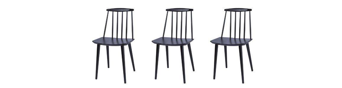 fdb cadeira preta