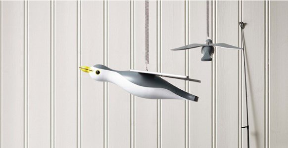 figurines mobile gaivota