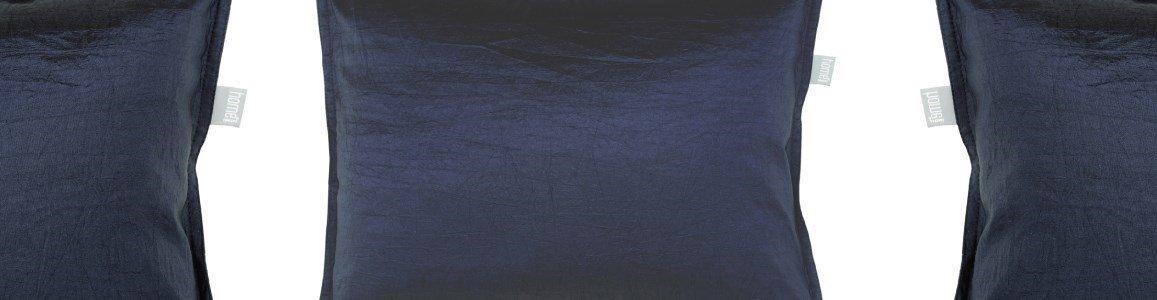 golden blue almofada decorativa en
