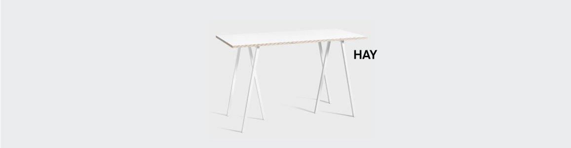 hay loop stand frame cavalete en