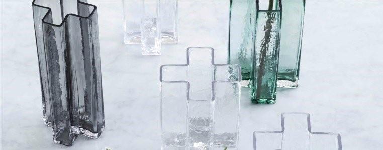 holmegaard crosses bodil kjaer vases