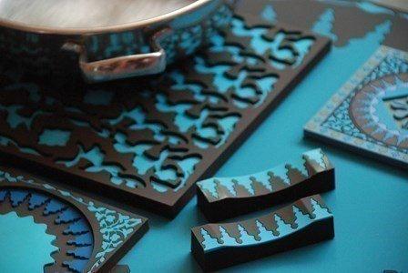 images d orient  mosaic blue