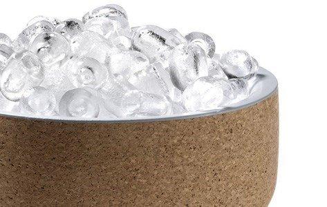 materia balde gelo