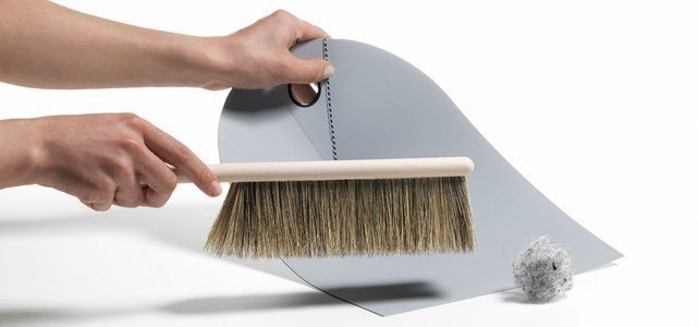 normann copenhagen dustpan broom
