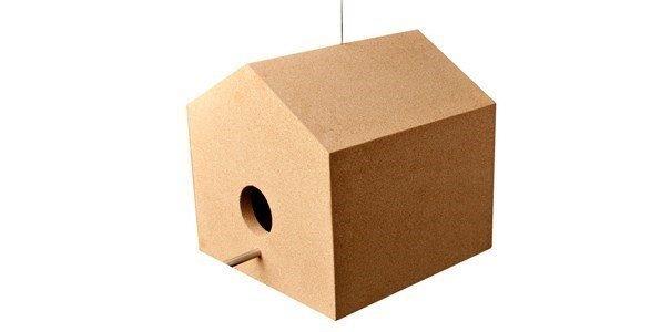 simple forms casas passaros