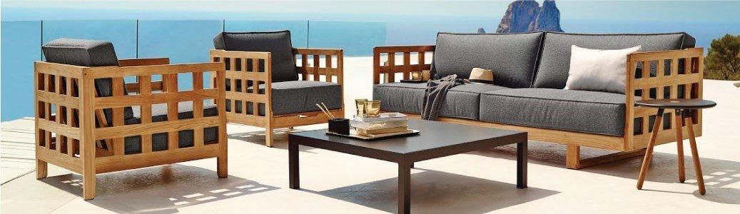 square sofa 3 lugares caneline en