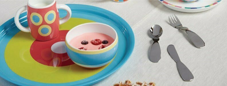 alessi alessandro mendini alessini children cutlery set