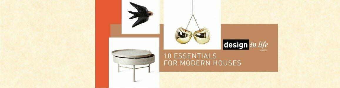 10 essenciais casas modernas en