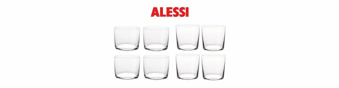 alessi jasper morrison glass family copos