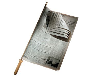 alessi twergi suporte de jornal