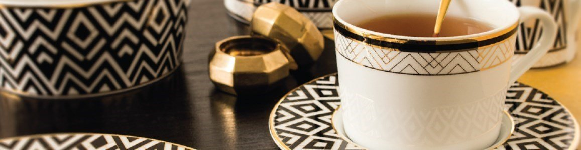 art deco tea service spal en