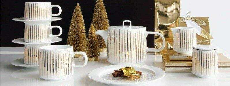 asa selection gold tres or tresor mug cup saucer en
