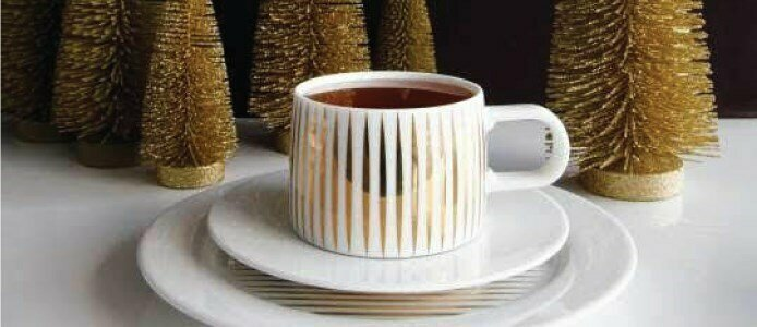 asa selection gold tres or tresor mug cup saucer