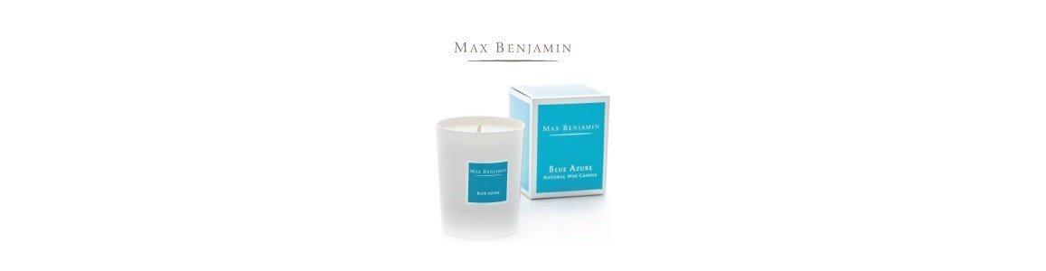 blue azure vela perfumada en