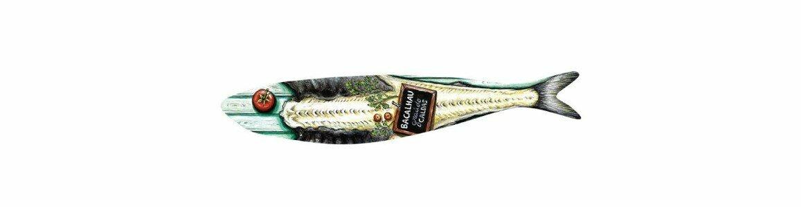 bordallo pinheiro sardinhas bacalhau en