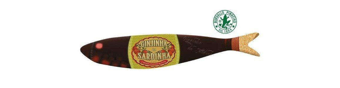 bordallo pinheiro sardinhas ginjinha sardinha