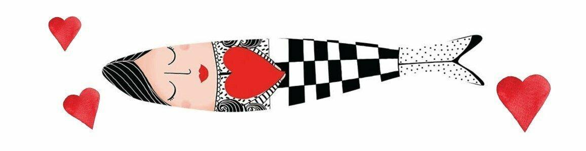 bordallo pinheiro sardinhas maria amor