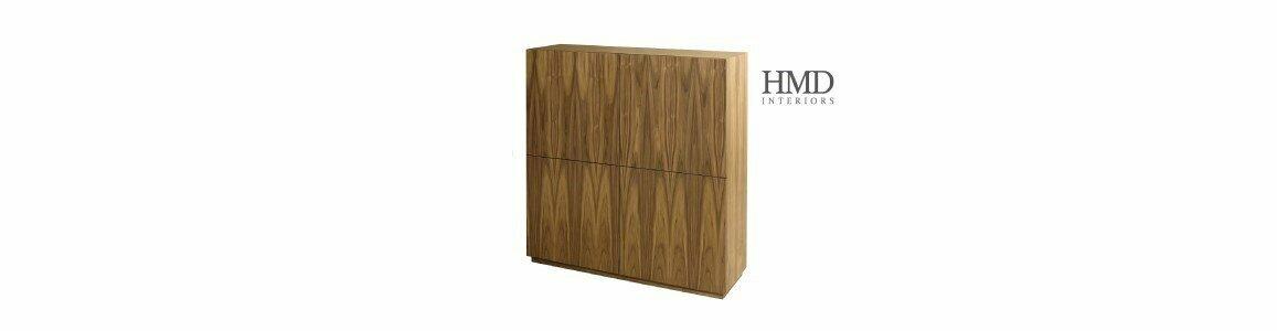 hmd interiors armario aparador 4door cabinet