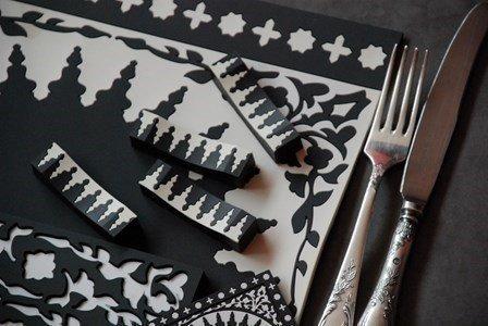 images d orient mosaic black
