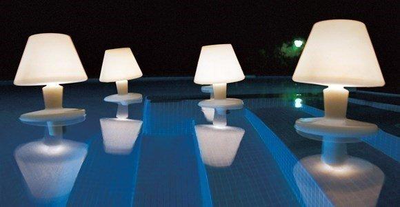 metalarte hector serrano waterproof candeeiro piscina jardim