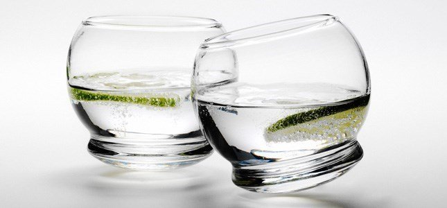 normann copenhagen rocking glass