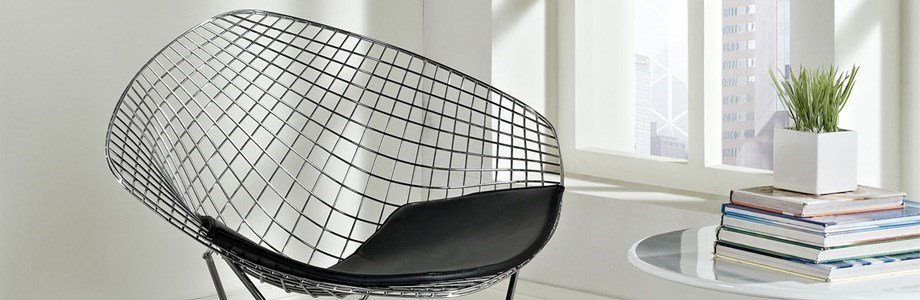 prospettive harry bertoia diamond chair