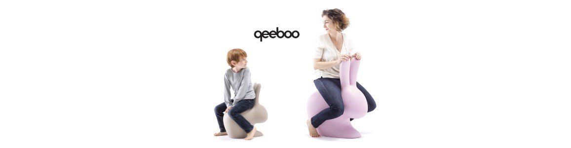 qeeboo stefano giovannoni rabbit chair cadeira en