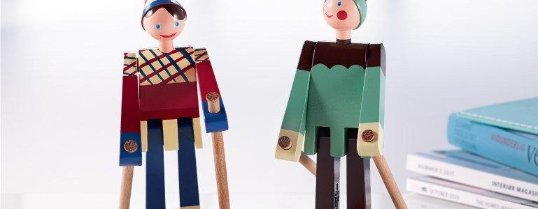 rosendal wooden figures skier boje datti en