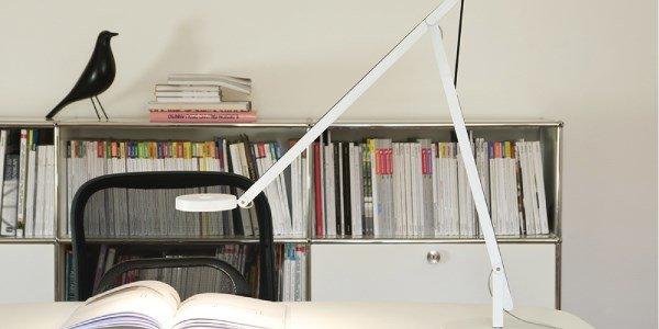 rotaliana string candeeiro mesa branco