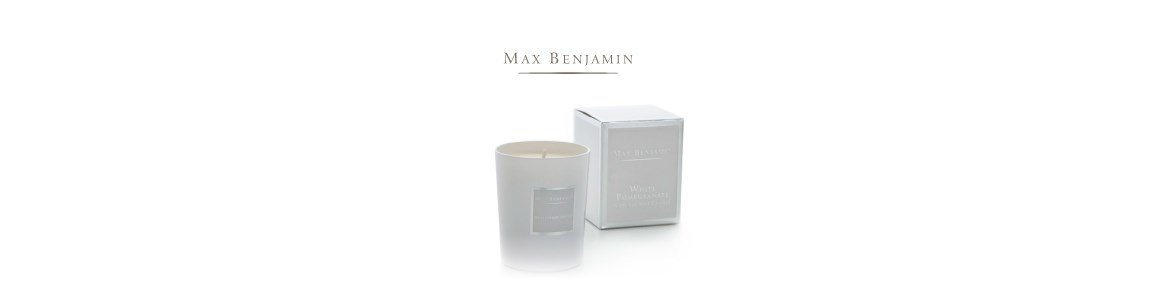 white pomegranate vela perfumada