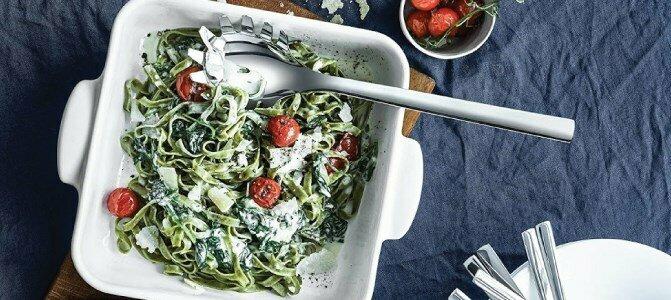 wmf nuova pasta serving spoon