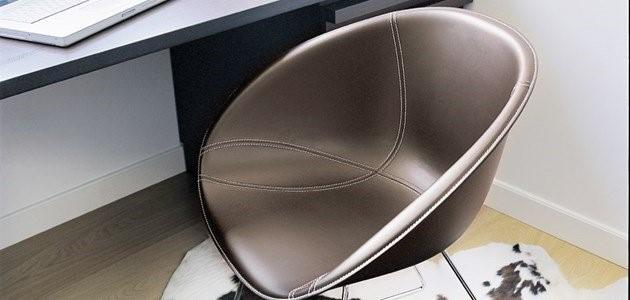 pedrali gliss cuoio cadeira